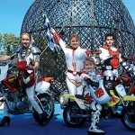 Nerveless Nocks Thrill Show - Motorcycle stunt show for fairs